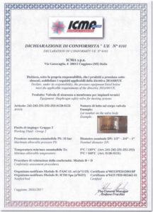 thumbnail of ICMA – DEKLARACJA ZGODNOŚCI – UE 0101 zawory bezpieczeństwa