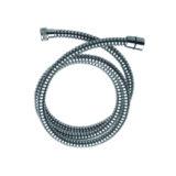 COAFLEX, wąż PCV, karbowany, czarny/chrom