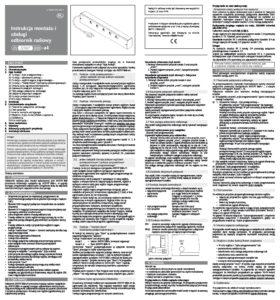 thumbnail of Instrukcja obsługi Instat 868 a4