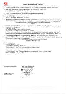 thumbnail of Deklaracja zgodności UE nr 3-PED-2019