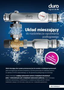 thumbnail of DURO SYSTEM – układ mieszajacy broszura reklamowa