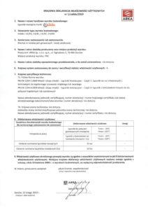 thumbnail of CALIDO – deklaracja właściwości użytkowych łączniki mosiężne Calido