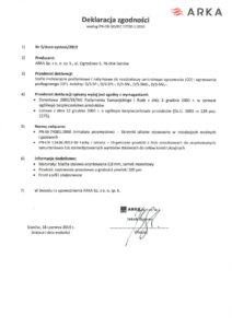 thumbnail of DURO SYSTEM – deklaracja zgodności szafki instalacyjne