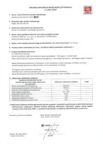 thumbnail of CALIDO – deklaracja właściwości użytkowych zestawy termostatyczne 4m+