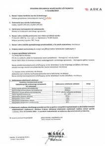 thumbnail of CALIDO – deklaracja właściwości użytkowych zestawy termostatyczne (z głowicą Bianca)