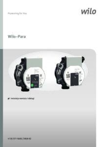 thumbnail of Instrukcja pompa Wilo-Para