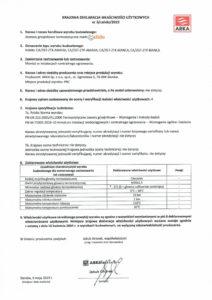 thumbnail of CALIDO – deklaracja właściwości użytkowych Eskimmos zestawy termostatyczne
