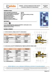 thumbnail of CALIDO – karta techniczna zestaw termostatyczny Eskimos prosty BIANCA