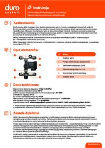 thumbnail of Duro System – instrukcja układ mieszający dwufunkcyjny