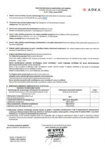 thumbnail of DURO SYSTEM – deklaracja właściwości użytkowych rura wielowarstwowa PERT-AL-PERT